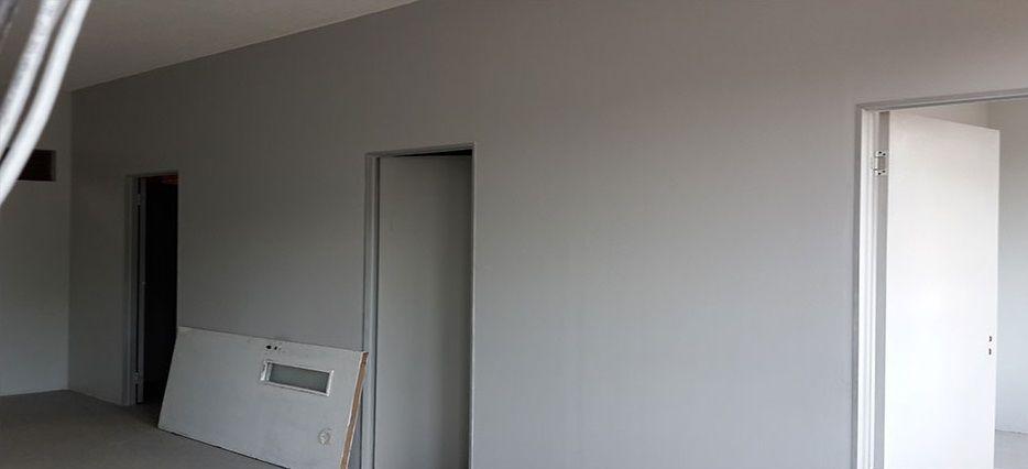 hospital drywalling