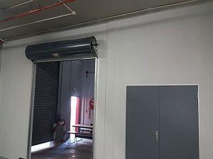 factory drywalling