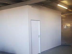 factory drywall partition