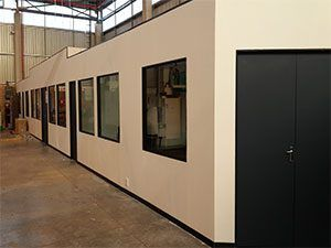 factory dry walling
